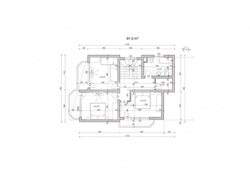 Двухэтажное жилье в курортном поселке Равда недал