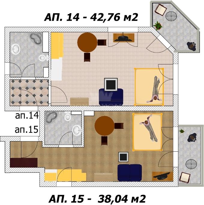 Продаются квартиры в Болгарии от застройщика для к