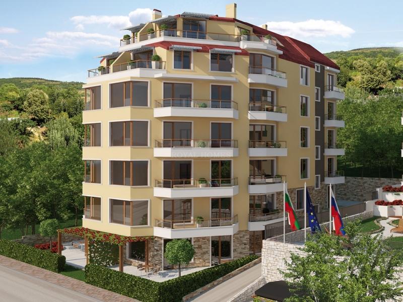 Квартиры на побережье Болгарии в городе Обзор.