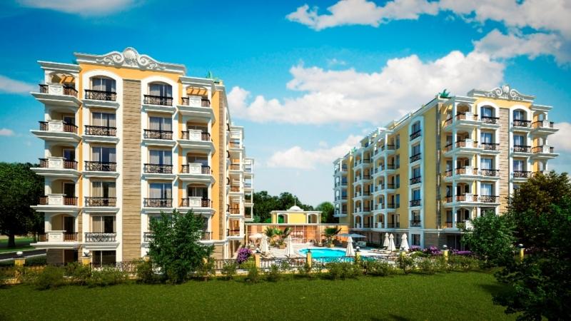 Квартиры в комплекс Морской Берег в Болгарии в Свя