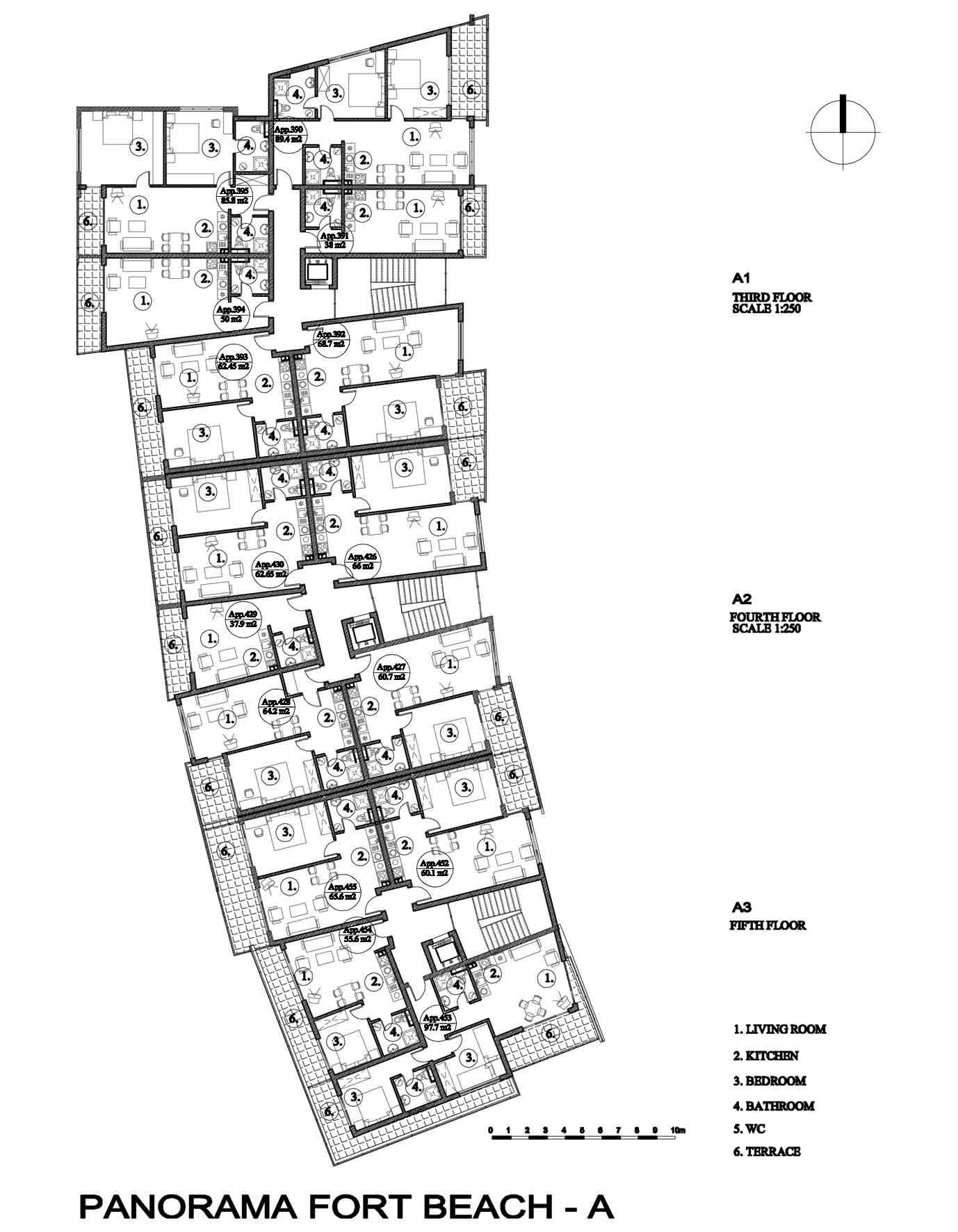 Двухкомнатная квартира в комплексе в Святом Власе