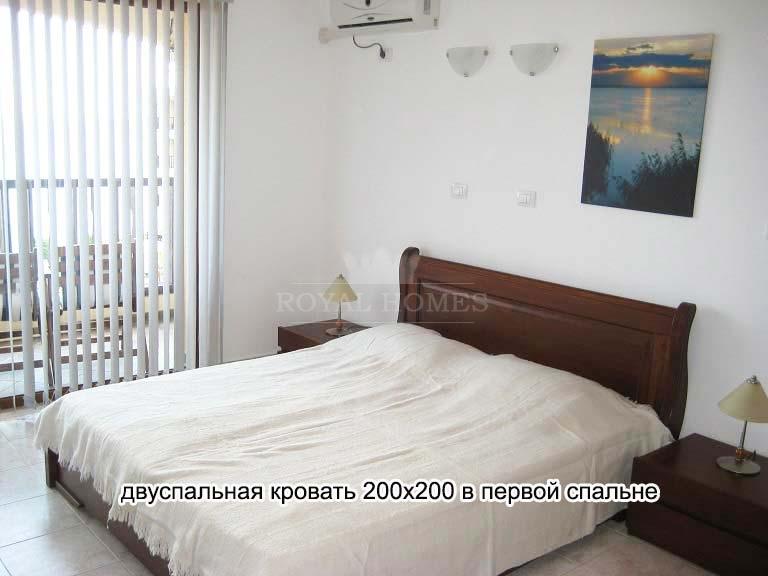 Квартира в Святом Власе с видом на море.