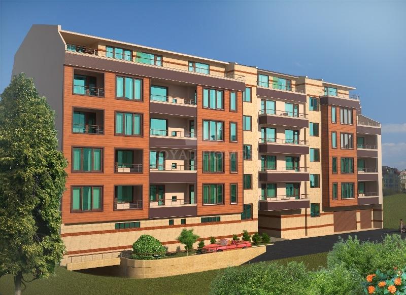 Двухкомнатная квартира в жк Славейков, город Бургас