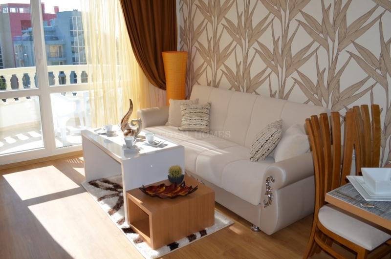 Недорогая двухкомнатная квартира в Болгарии с каче