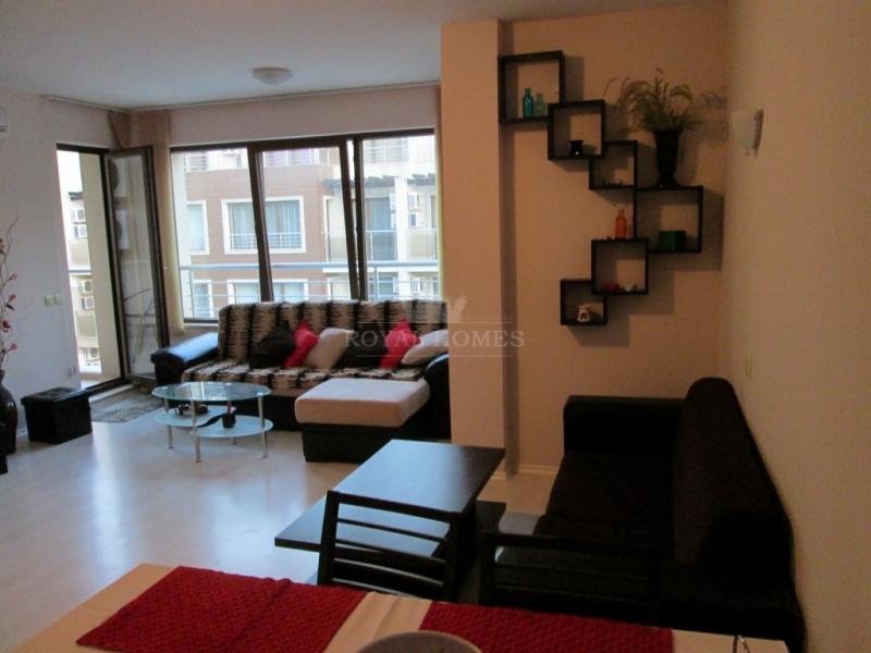Двухкомнатная квартира в Болгарии на первой линии.