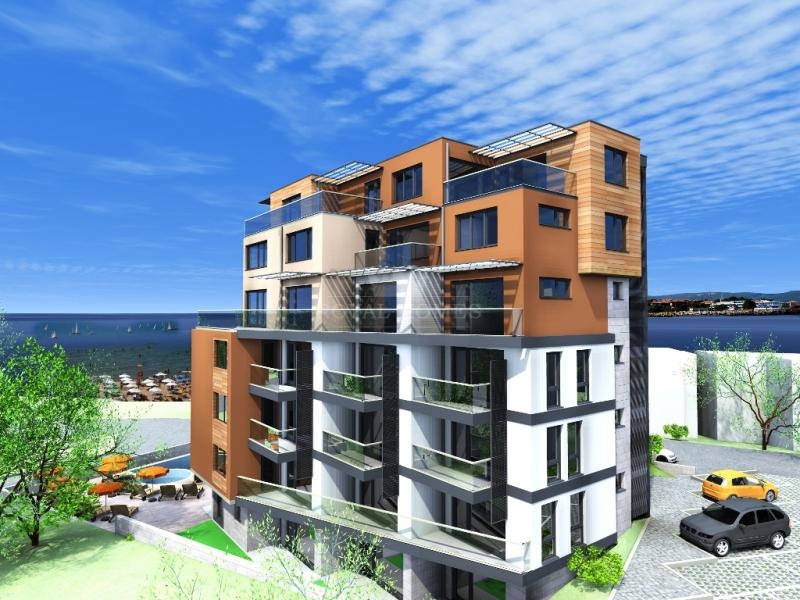 Недвижимость в Болгарии на море. Квартиры в Болгар