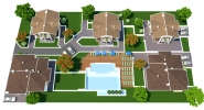 Недвижимость в Болгарии в Лозенец в коттеджном пос