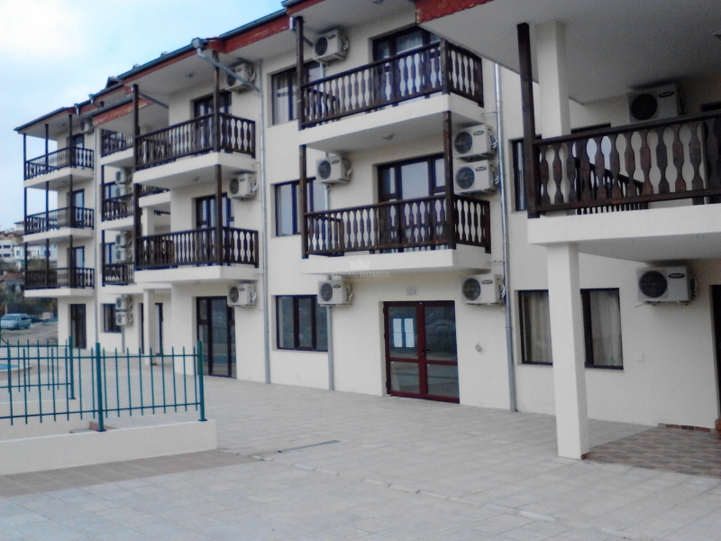 Квартиры в Болгарии с видом на море в закрытом ком